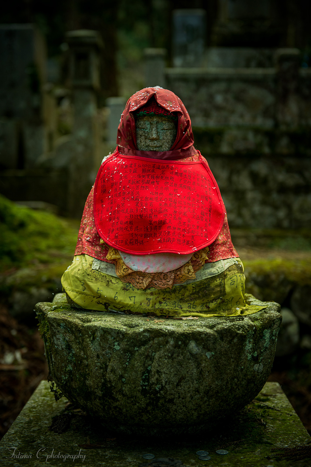 Statue at the Okunoin Cemetery